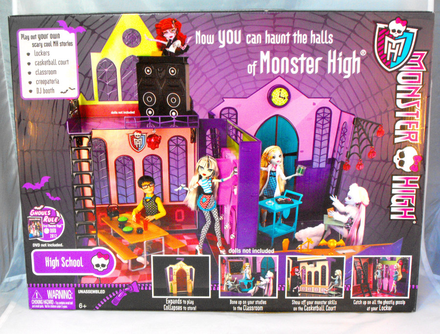 Monster High Playset High School (US-Version)