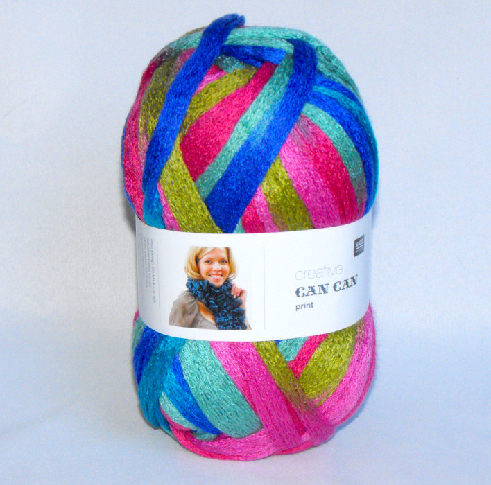 Wool Can Can Print - Multi-Colored
